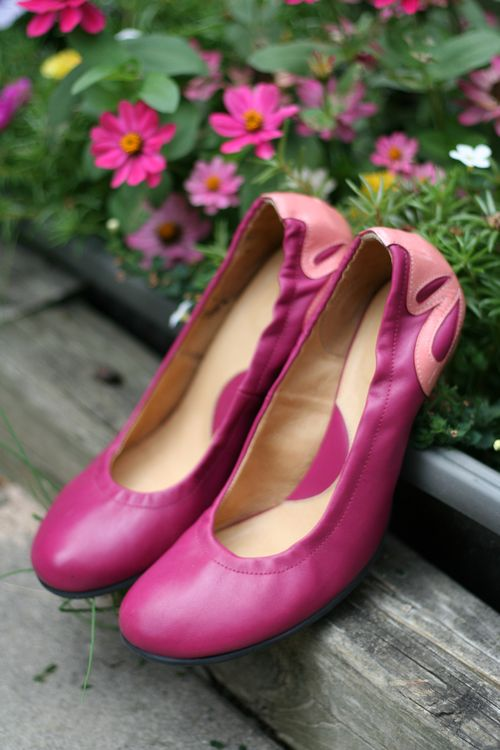 Pink john fluevog shoes suzanne carillo style files