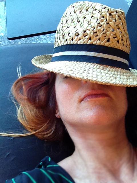 Resting in frankfurt airport suzanne carillo