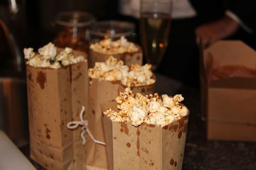 Gourment popcorn oscar party