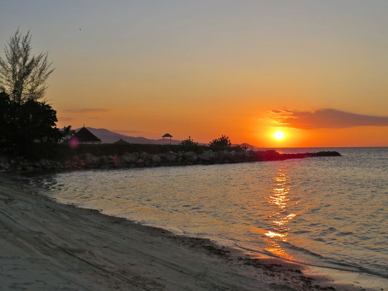 Oasis resort montego bay sunset