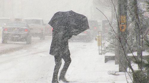 Snowstorm april