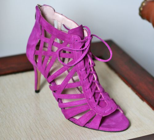 Radiant orchid vince camuto strappy sandals