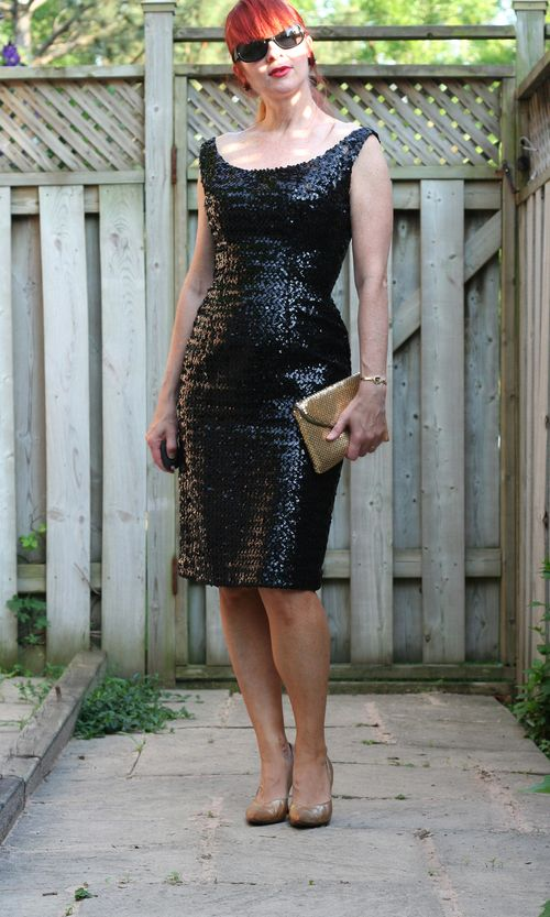 Vintage sequin wiggle dress suzanne carillo style files