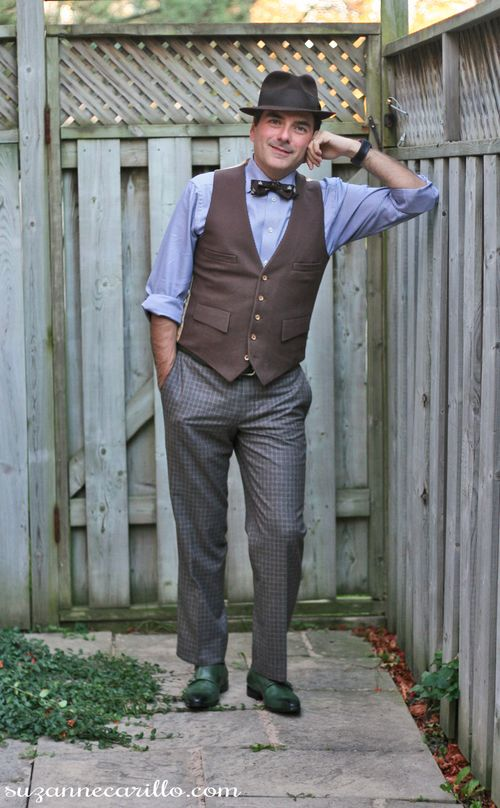 How To Dress 1920s Style For Men Suzanne Carillo