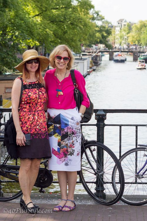 Suzanne and sylvia style bloggers visit Amsterdam