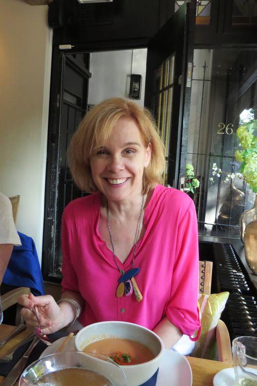 Sylvia van de Logt over 40 style blogger