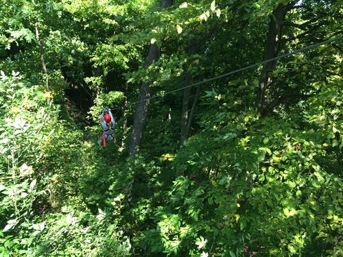 zip lining ontario eco point