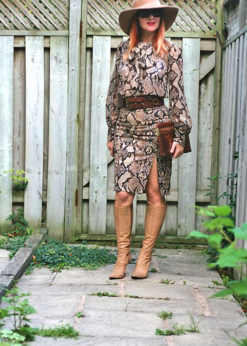 How to wear snakeskin pattern suzanne carillo style files